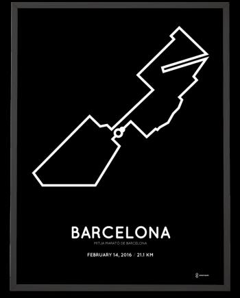 2016 Half Marathon poster