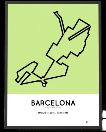 2016 Barcelona marathon
