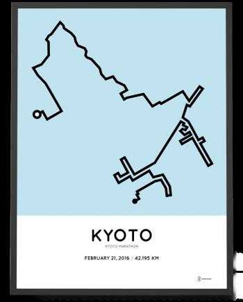2016 Kyoto Marathon poster