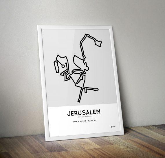 Jerusalem Marathon 2016 poster