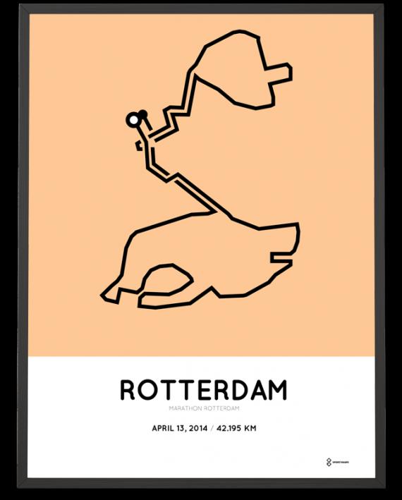 2014 Marathon Rotterdam poster