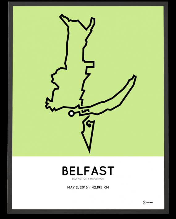 2016 Belfast City marathon