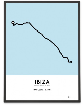 2016 Ibiza half marathon