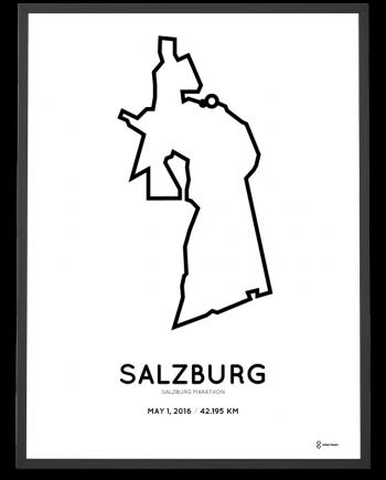 2016 Salzburg marathon poster