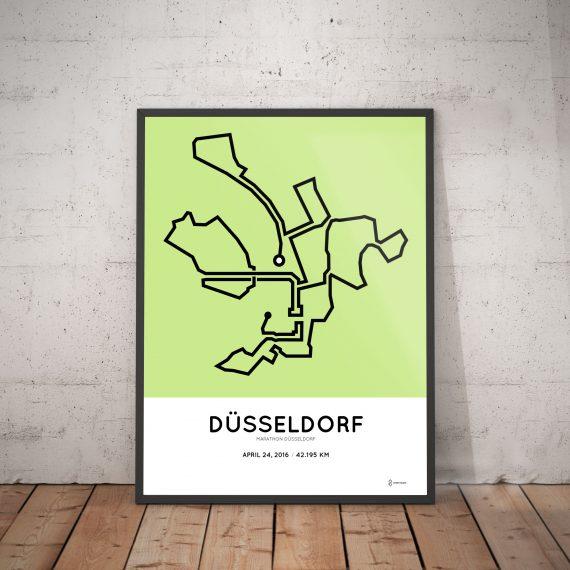 Dusseldorf marathon 2016 course