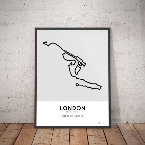 London marathon 2012 poster