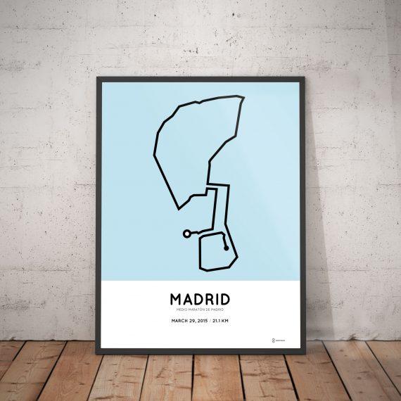 Madrid half marathon 2015