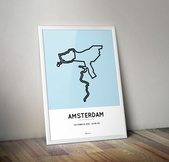 Amsterdam Marathon 2014 print