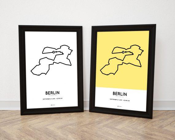 2015 Berlin marathon posters