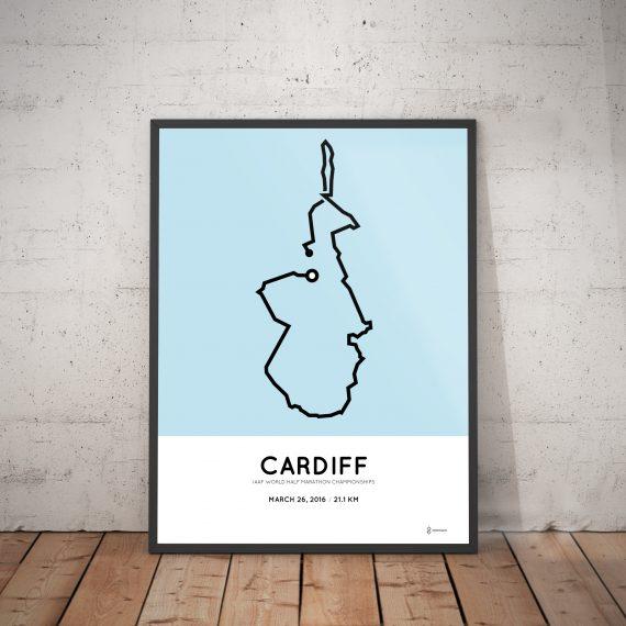 Cardiff half marathon 2016 print
