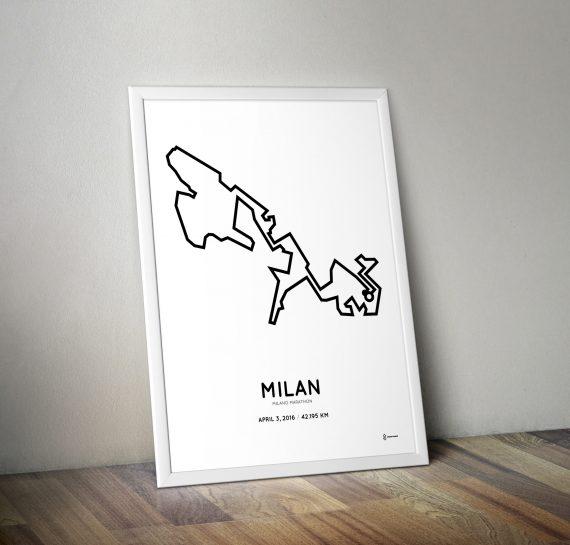 2016 Milan Marathon poster
