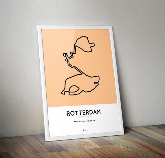 Marathon Rotterdam 2014 print