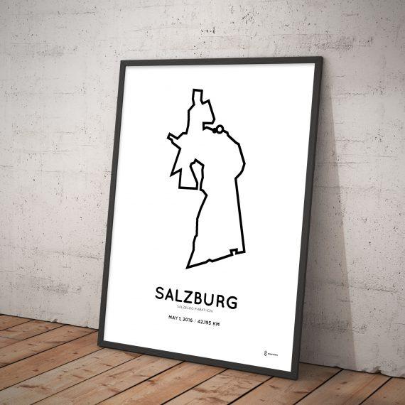 2016 Salzburg marathon art