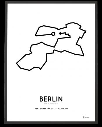 2012 Berlin marathon parcours