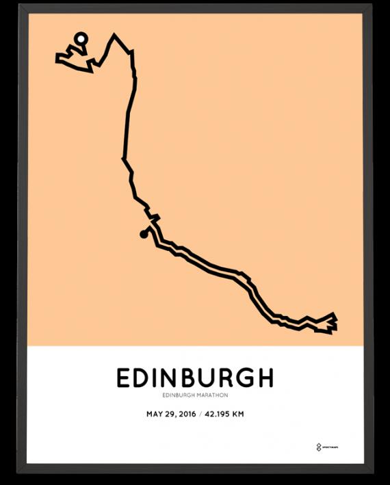 2016 Edinburgh marathon
