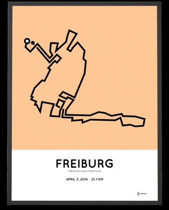 2016 Freiburg half marathon