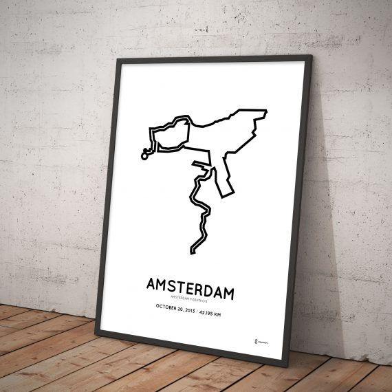 Amsterdam marathon 2013 parcours