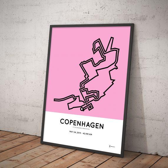 Copenhagen marathon 2015 poster