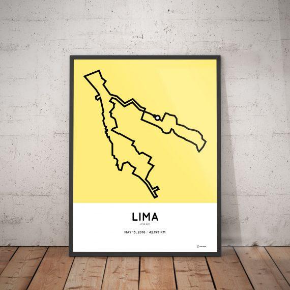 2016 Lima 42k route
