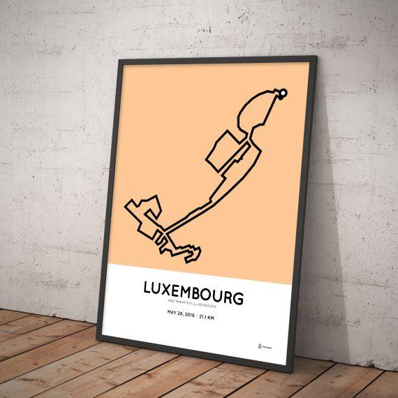 2016 Luxembourg half marathon