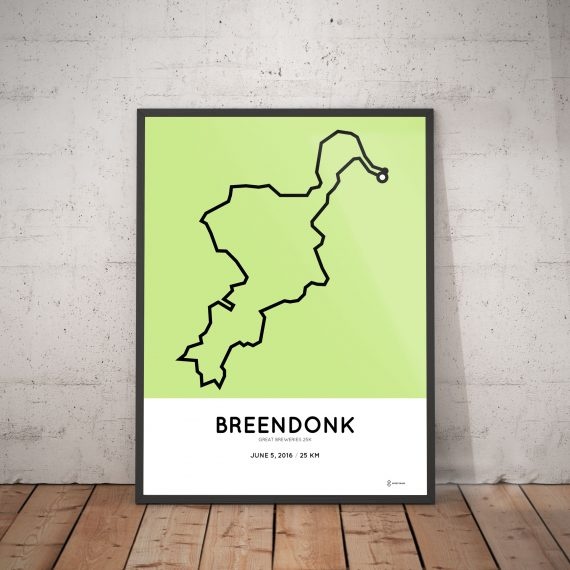 GreatBreweries 25km route print