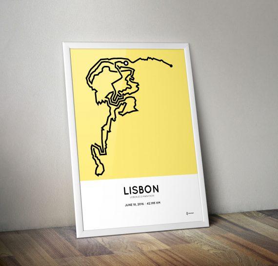 Maratona de Lisboa 2016 course