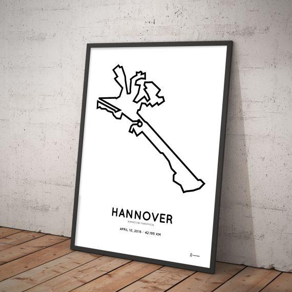 2016 Hannover marathon poster