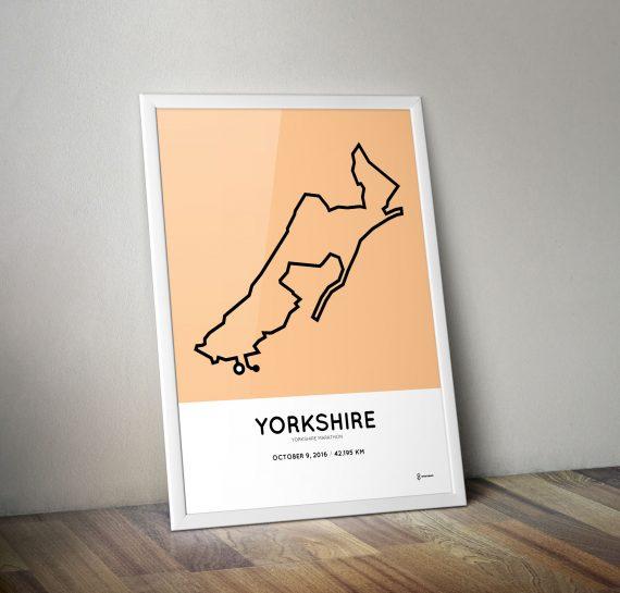 Yorkshire marathon 2016 print