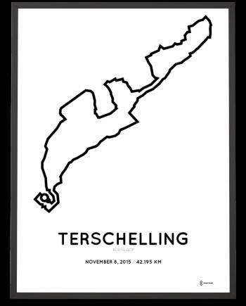 2015 Berenloop course poster