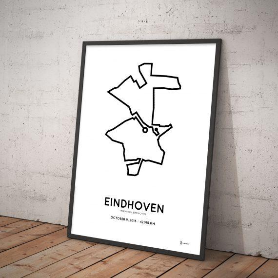 2016 Marathon Eindhoven parcours poster