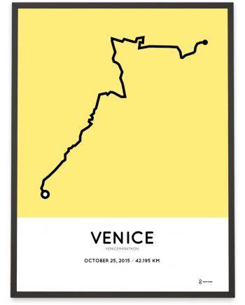 2015 venicemarathon course poster