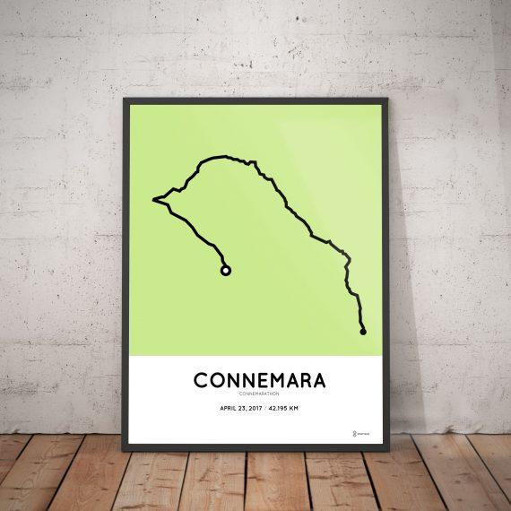 2017 connemarathon route print