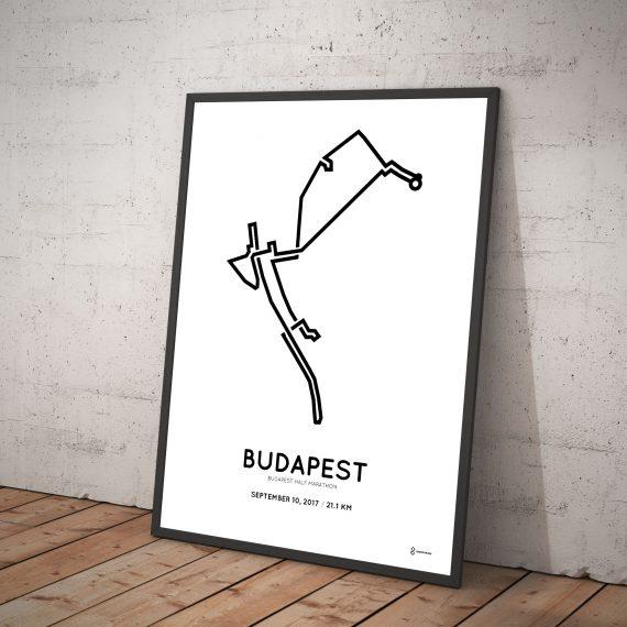 2017 budapest half marathon course print