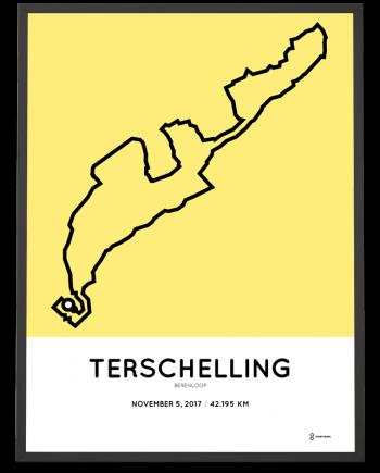 2017 Berenloop parcours print