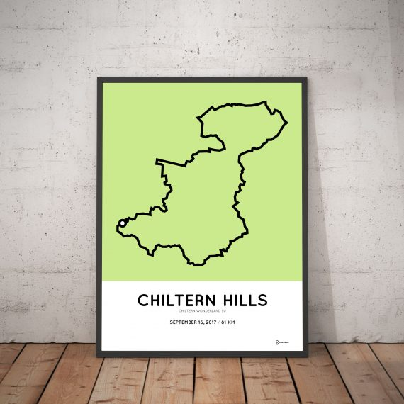 2017 Chilthern wonderland 50 parcours print