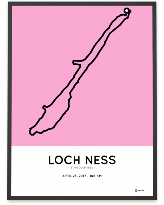2017 Etape Loch Ness course poster