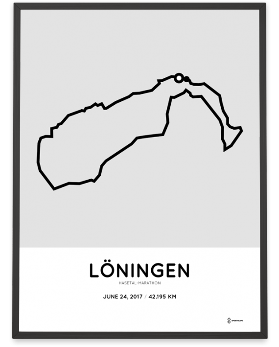 2017 Hasetal-marathon course poster