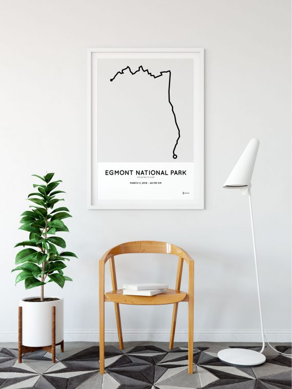 2018 Mountain to surf parcours print