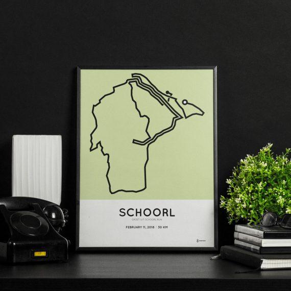 2018 schoorl 30km course print