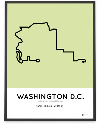 2018 Rock-n-roll washington course poster