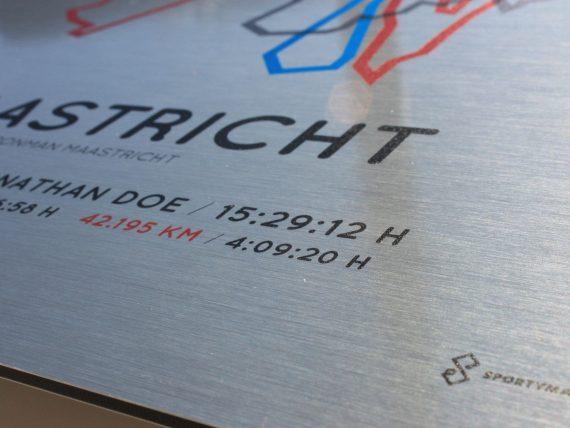 Ironman Maastricht aluminum print
