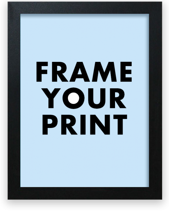 Frame your Sportymaps print