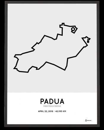 2018 Maratona di Padova course poster
