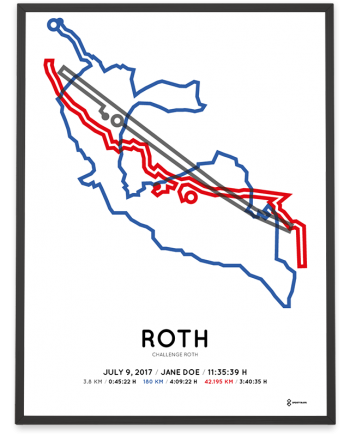 2017 Challenge Roth course poster color