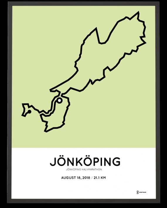 2018 jonkoping half marathon course print