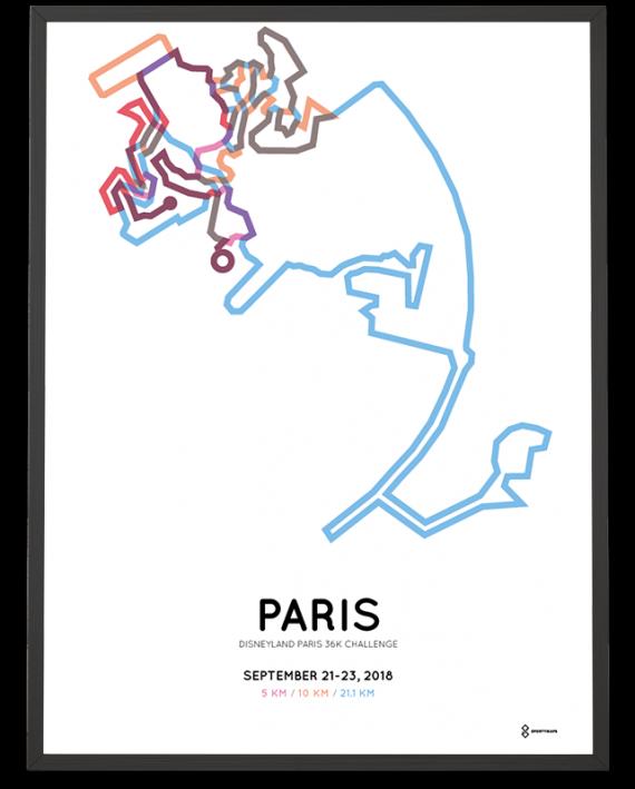 2018 Disneyland Paris 36k challenge