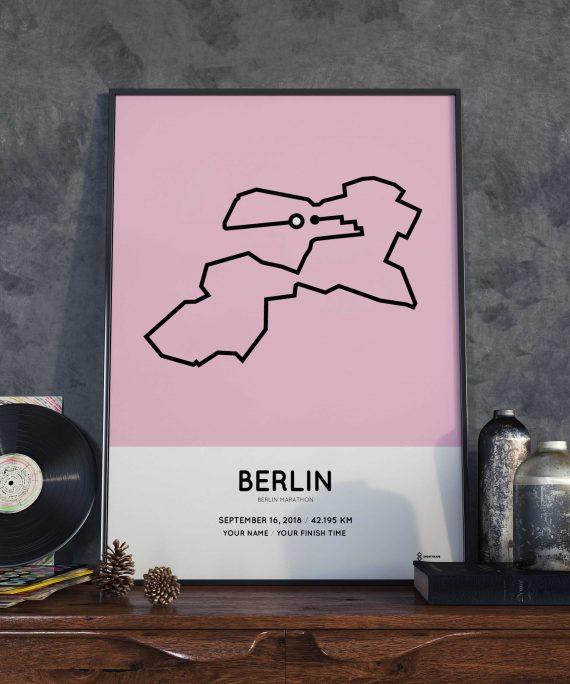 2018 berlin marathon coursemap strecke print