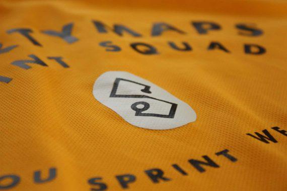 Sportymaps shirt gold details