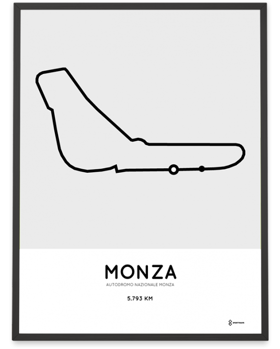 Autodromo Nazionale Monza circuit print