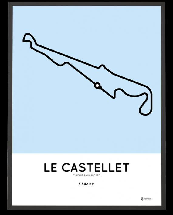 Circuit Paul Ricard F1 poster